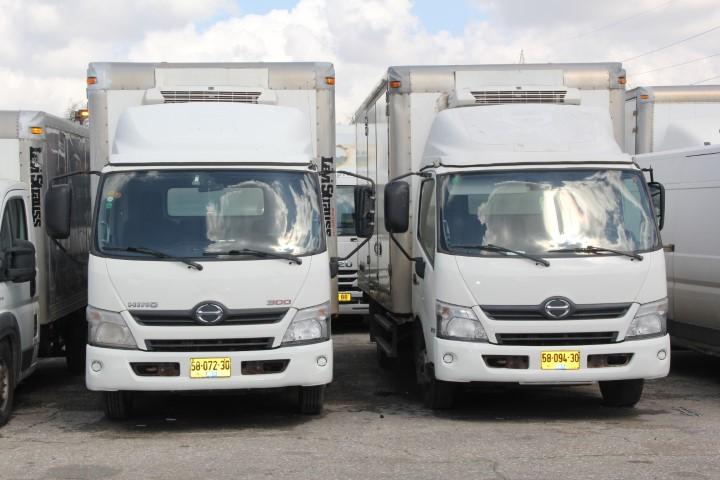 כל סוגי המשאיות והמסחריות למכירה והשכרה